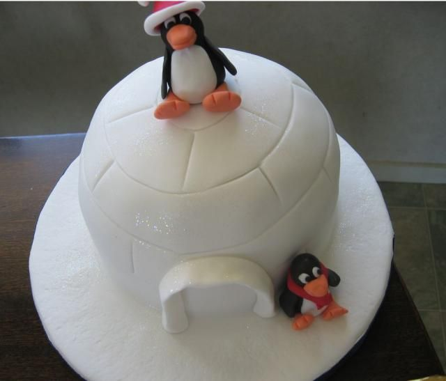 How To Make A Fondant Penguin Cake