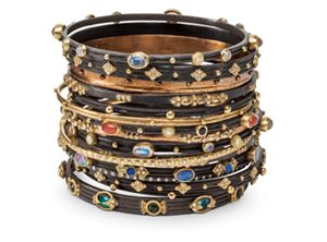 Armenta  Emily Armenta is an historian, a romantic, and a skilled jeweler.  Her signature pieces of blackened silver and rich yellow gold are inspired by Spain's most famous and important poet of the 20th century, Frederico Garcia Lorca.