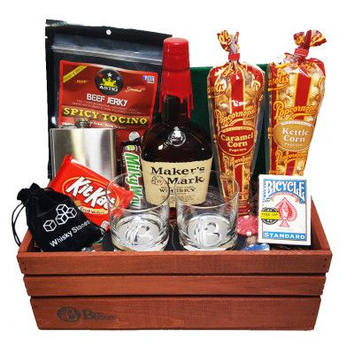 Alcohol Gift Baskets for Men …