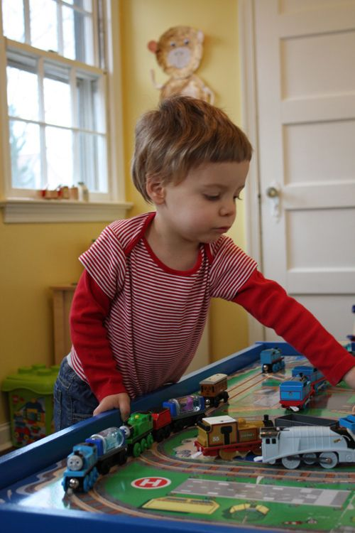 DIY Thomas and Friends Train Table