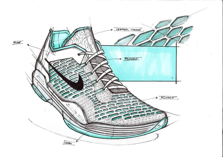 footwear sketches on Behance