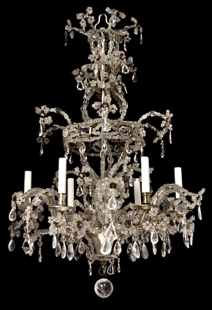 81 best lighting overhead images on pinterest chandeliers french rock crystal chandelier c1850 arubaitofo Images