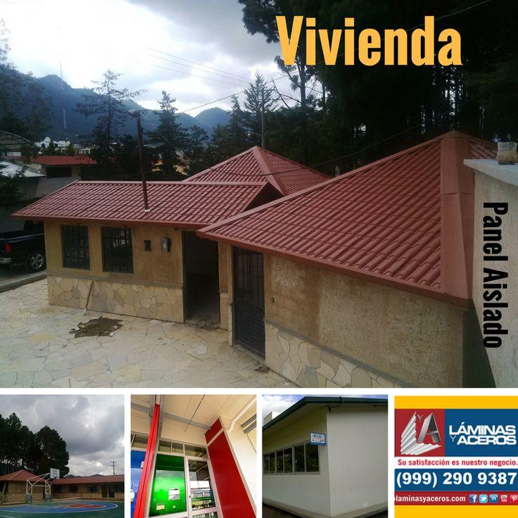 Panel Aislado para muros y techos en viviendas