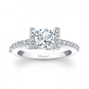 Diamond Engagement Ring - 7867LW