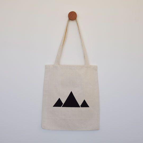 Made By Mee + Co | Mountains Silhouette Tote
