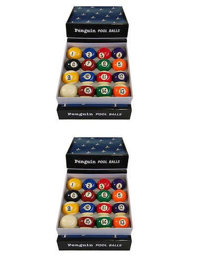 Other Billiards 1292: Penguin Brand Pool Ball Set -> BUY IT NOW ONLY: $55 on eBay!