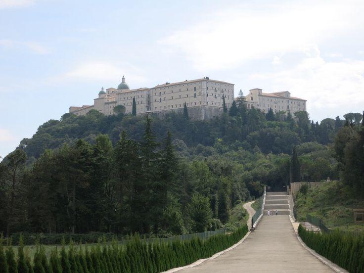 Montecassino Abbey in Cassino, Italy