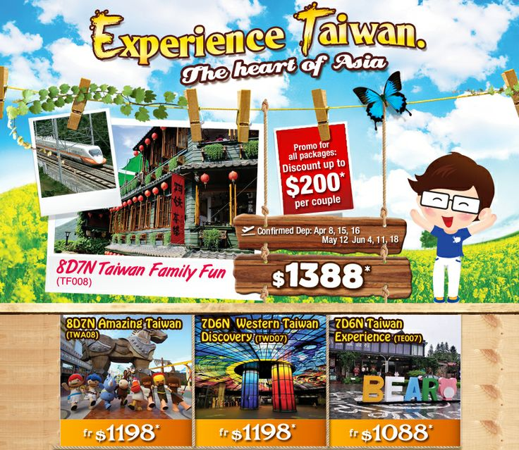 Christmas Travel Package Deals: 10 Best Images About Taiwan Tour Promotions On Pinterest