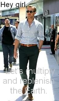 Hey girl. Let's multiply and replenish the Earth.: This Man, Menfashion, Men Style, Dresses, Outfit, Men Fashion, Ryan Gosling Style, Green Pants, Belts