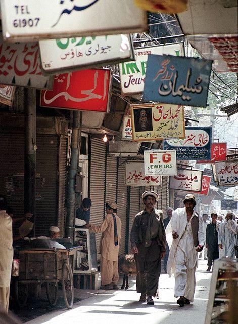 Peshawar bazaar - Pakistan