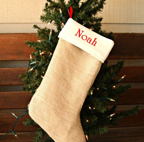 A great, personalized stocking idea and lots more gift ideas from this etsy shop!
