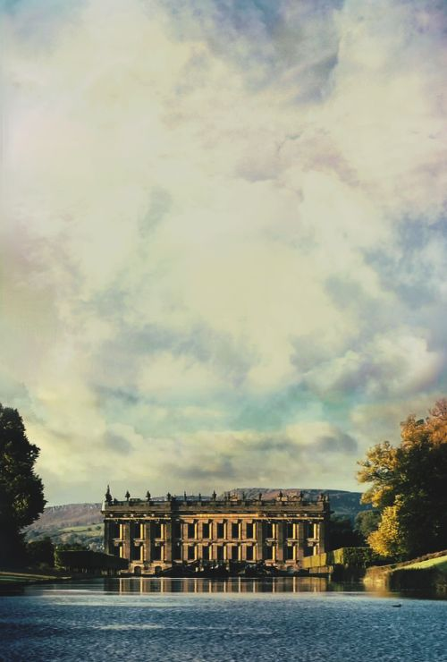 Chatsworth House, Mr. Darcy's Pemberley in Pride and Prejudice. A stunning building.