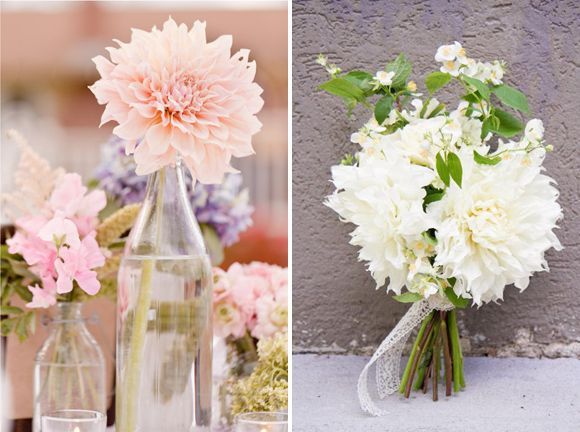 Wedding flowers table decor by Style Serendipity (Flowerona)