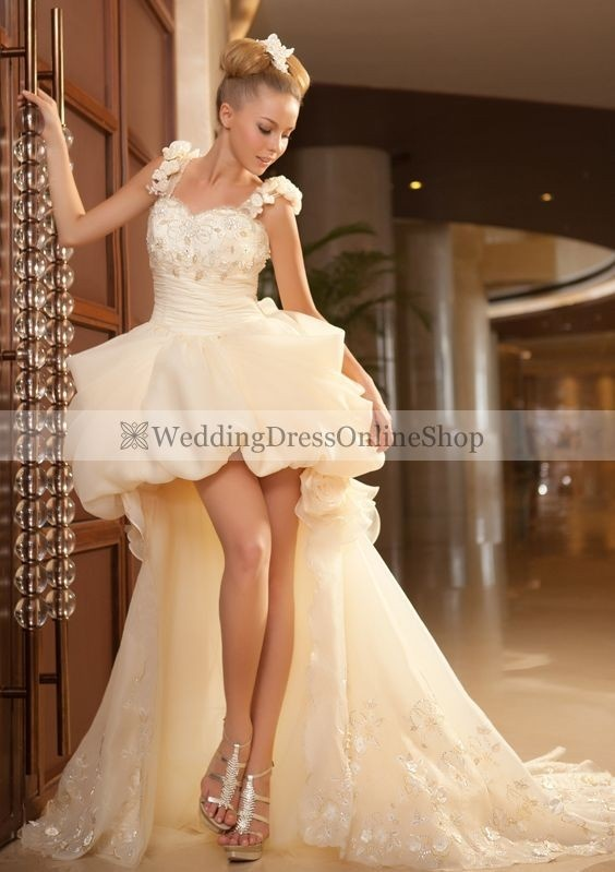 86 Best Short Wedding Dress Images On Pinterest