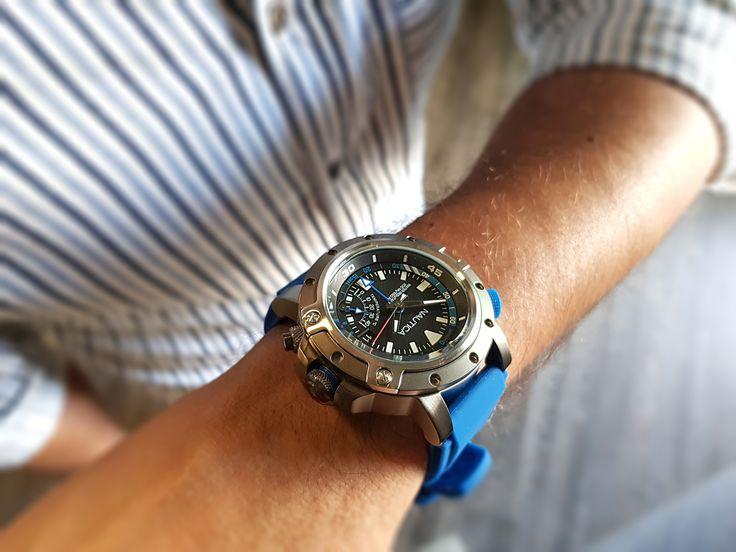 Nautica PRH DIVE STYLENAPPRH001 #nauticawatch #manstyle #diver #fashion