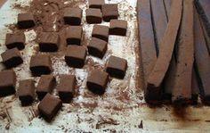 Εύκολα σπιτικά σοκολατάκια με ρούμι και κακάο