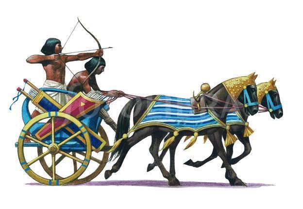 сети есть боевые колесницы египтян картинки с описанием удивительно поэтому