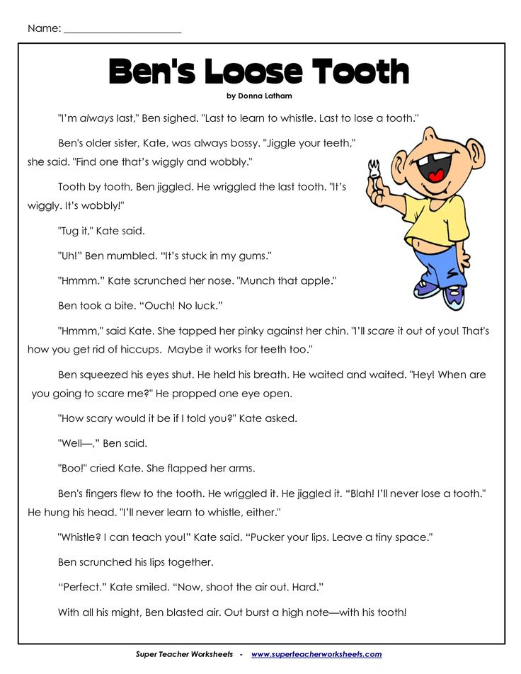 Comprehension Worksheets for 3rd Grade | 3Rd Grade ...