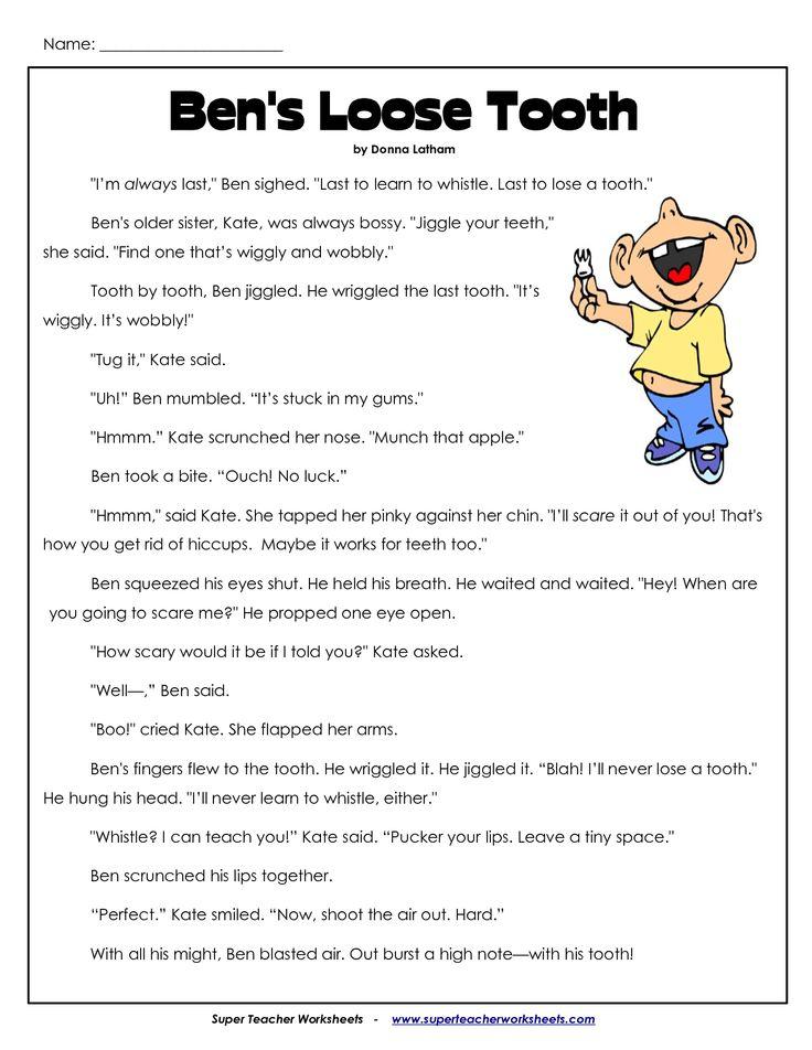 Comprehension Worksheets for 3rd Grade   3Rd Grade ...