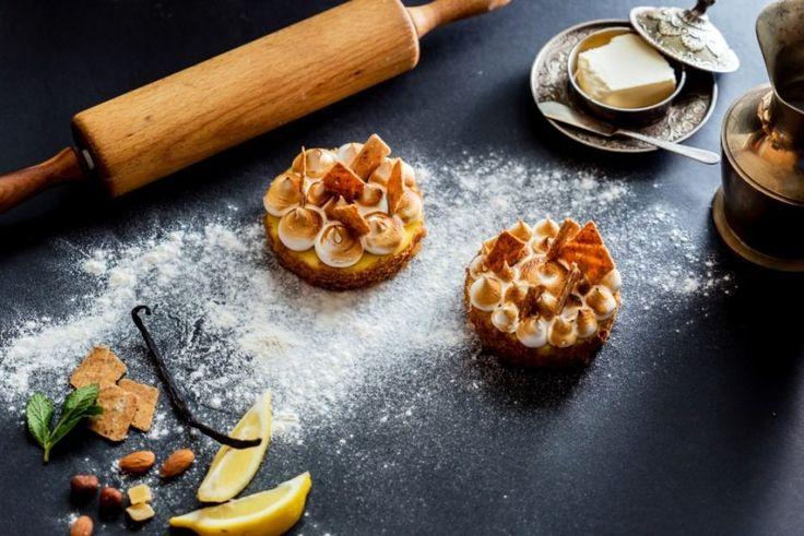 Tartaletki z lemon curd i mini bezami