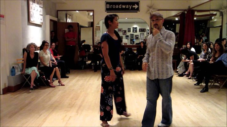 Tango Lesson: Three Kinds of Ochos with Follower's Axis-Based Adornments
