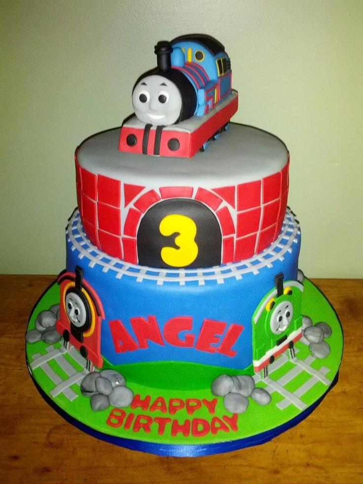 Thomas Tank Engine Birthday Cake Cakes My Sister And I