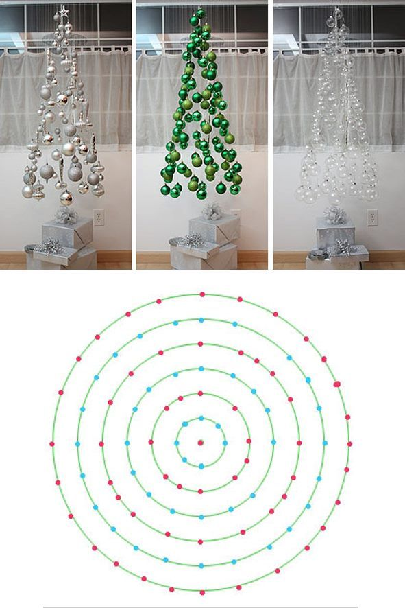 Arbol de Navidad flotante/ Floating Christmas Tree #design
