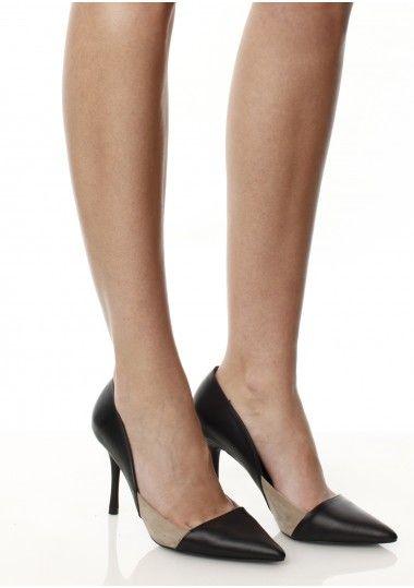 SEPALA - Pantofi piele neagra