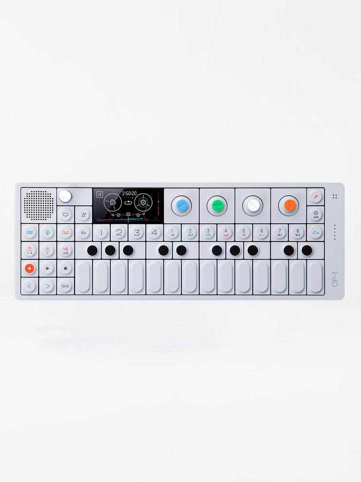 TEENAGE ENGINEERING , OP-1  Portable Synthesizer  #shopigo #shopigono17 #ss16 #conceptstore #onlinestore #onlineshopping #buyonline #onlineconceptstore #technology  #teenageengineering