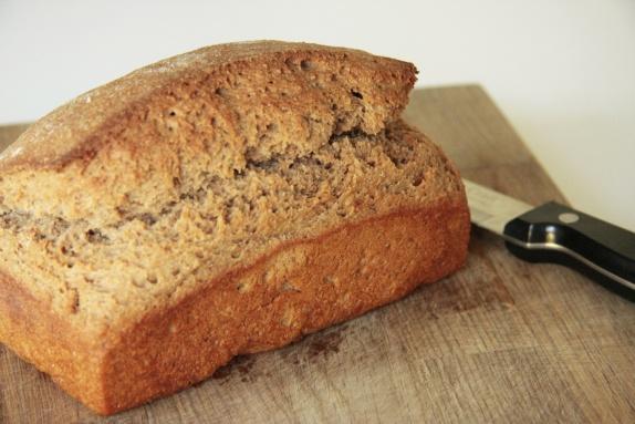 Веганский бездрожжевой хлеб