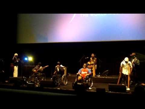 Staff Benda Bilili live @ Womex '09 (award ceremony)