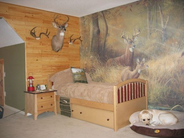 love that mural. Country. maybe Crickett could paint THAT for hagen!!!