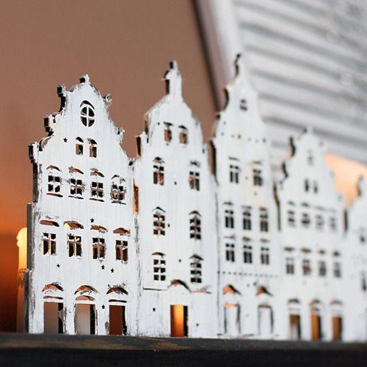 dodatki - świeczniki i świece-Kamieniczki