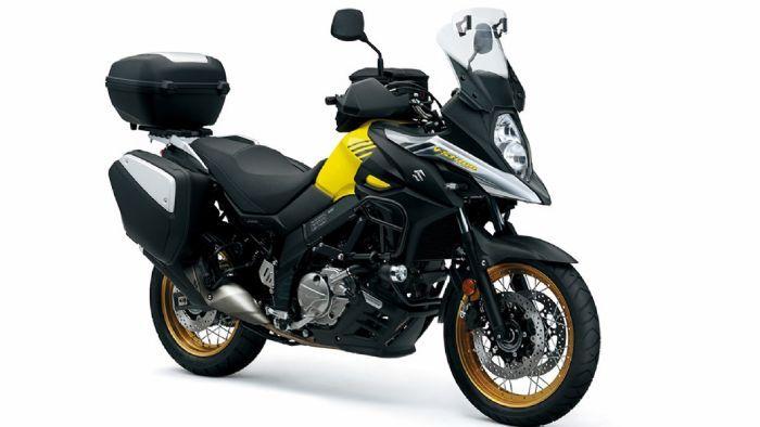 Αυτό είναι το νέο Suzuki V-Strom 650!