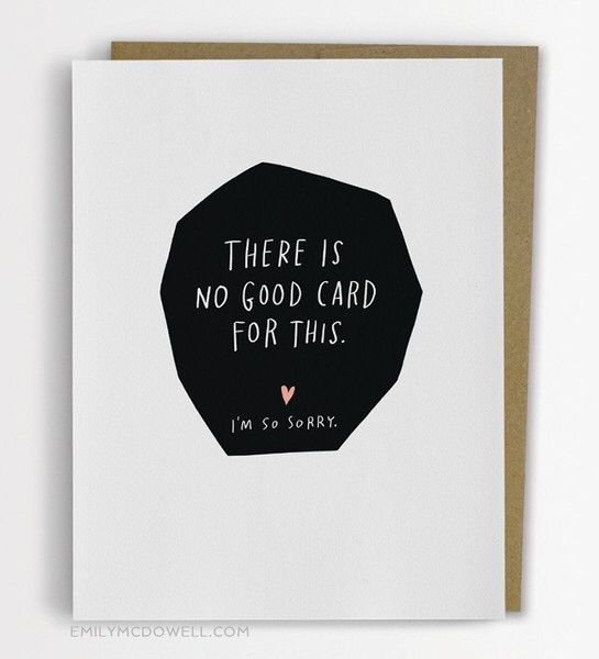 Empathy cards for cancer by Emily McDowell