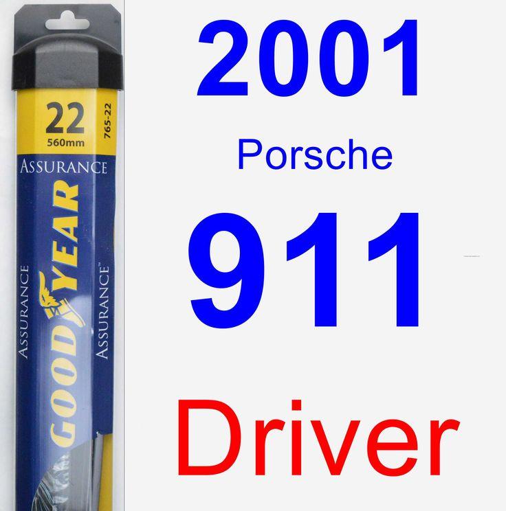 Driver Wiper Blade for 2001 Porsche 911 - Assurance