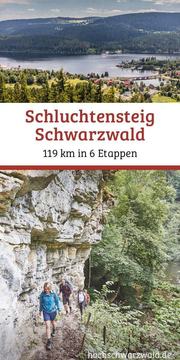 In 6 stages through the Southern Black Forest Nature Park – the Schluchtensteig. On 11 … – Wandern im Hochschwarzwald/ Hiking in Black Forest Highlands