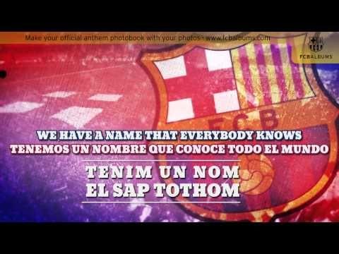 Canta el Himno del Barça con nosotros #karaoke #himno #barça #fcbarcelona