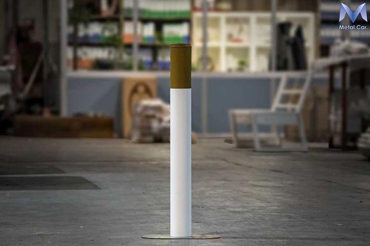 Posacenere da Esterno a forma di sigaretta per Locali, Ristoranti e Negozi. Disponibile nell'E-Commerce