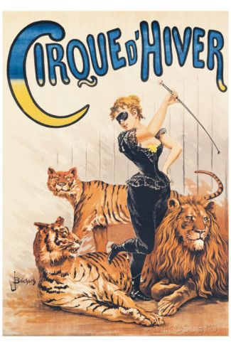 Cirque d'Hiver Giclee Print by J. Boichard at AllPosters.com
