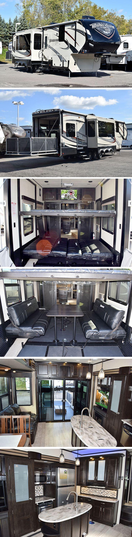 best 25 5th wheel toy hauler ideas on pinterest 5th wheel 2015 grand design momentum 380th fifth wheel toy hauler where absolute luxury meets mobile garage
