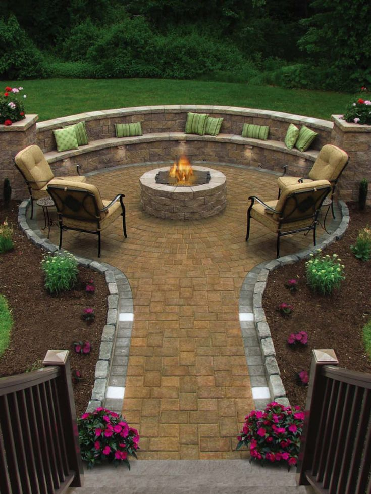 During the summer months it would be wonderful to have a traditional outdoor patio to enjoy entertaining family and friends and relax in comfort and style.