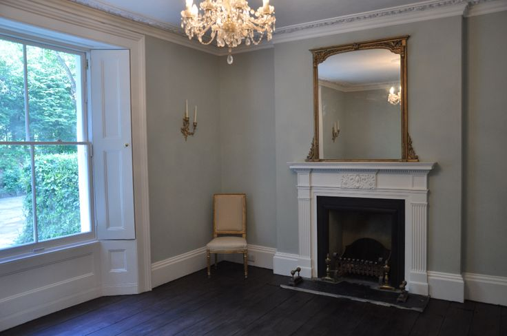 Victorian dining room in Farrow and Ball Cromarty.