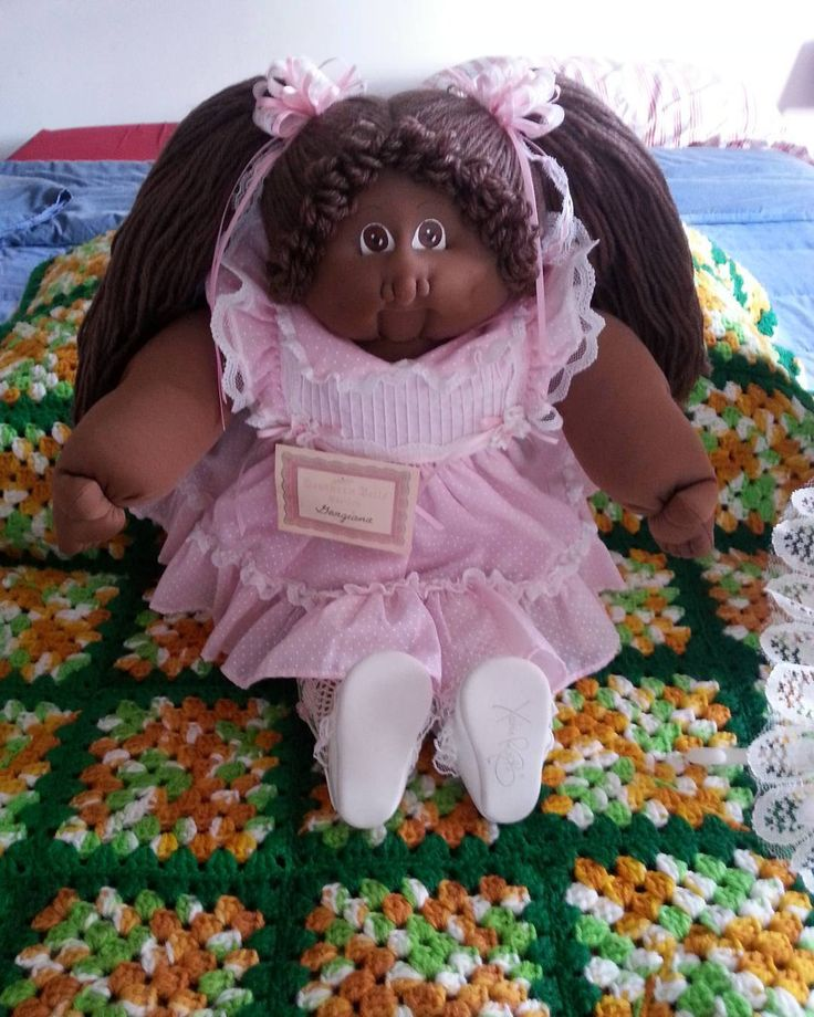Cabbage Patch Kids Doll Southern Belle 1986 African American Georgiana by cherlove2 on Etsy