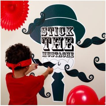 Mustache Party Theme for Little Boys {Party Supplies, Games, Party Favors  Food}