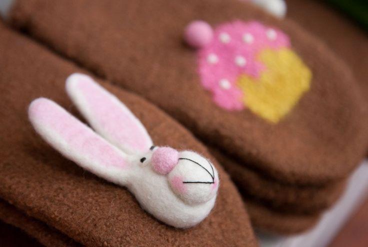 Wool mitten ♥