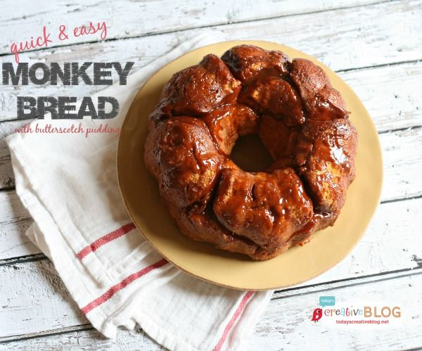 2 can Grand biscuit Monkey Bread Recipe Butterscotch Pudding - Todays Creative Blog