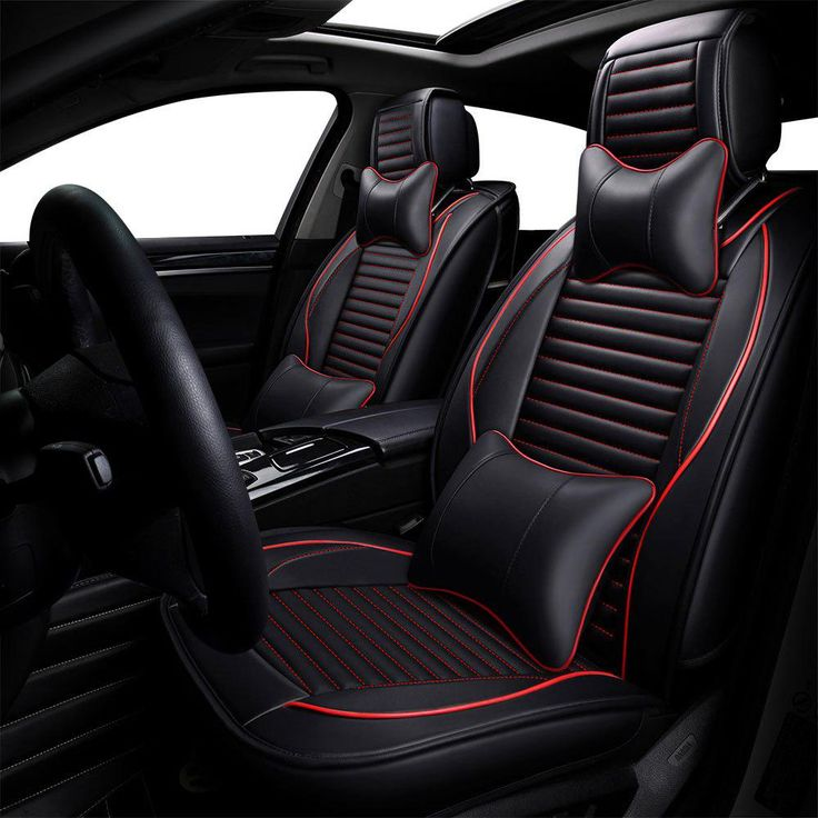 Luxury Leather Universal Car Seat Covers For Audi Q3 Q5 Q7