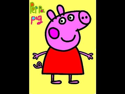 Peppa Pig Coloring Book Games : Coloring pages: peppa pig pages printable games