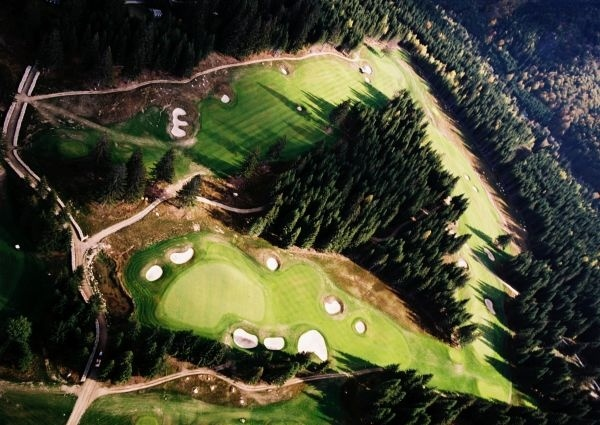 view of Gray Bear Tale golf course, #Slovakia    www.tale.sk   www.miceslovakia.com